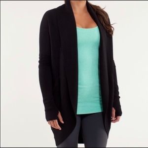 Lululemon Athletica Transformation Wrap Cardigan